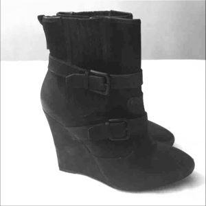 Joie wedge booties